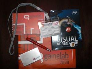Obsequios Gamelab 2009