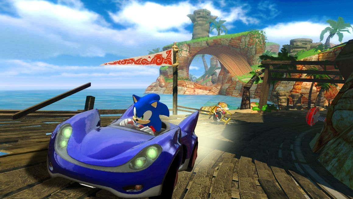 Diseños del original 'Sonic & SEGA All-Stars Racing'