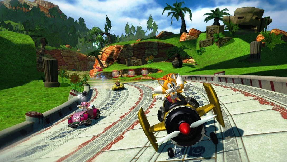 Sumo quiere que los fans escojan qué personajes saldrán los DLC de Sonic & All-Stars Racing