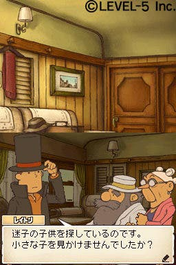 El profesor Layton se estrena el Nintendo 3DS el 26 de octubre