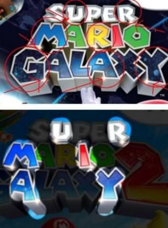 Posible icono gay en Super Mario Galaxy.