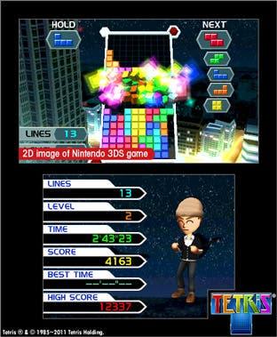 Tetris 3D llegará a 3DS el 21 de octubre