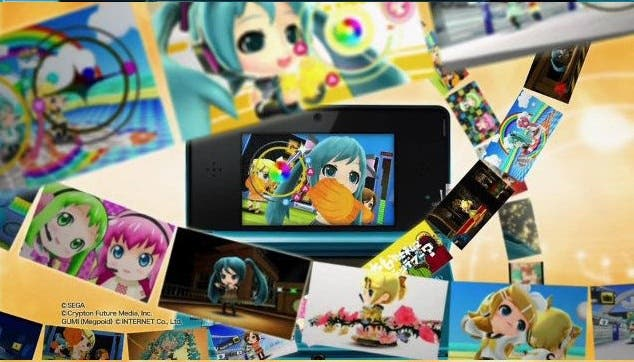 Comerciales japoneses de Rhythm Thief & the Emperor's Treasure y Hatsune Miku Project Mirai