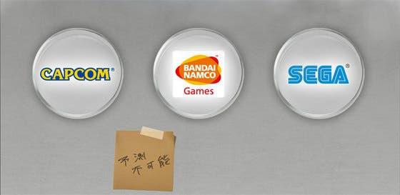 Estos podrían ser los personajes del crossover de Namco Sega y Capcom