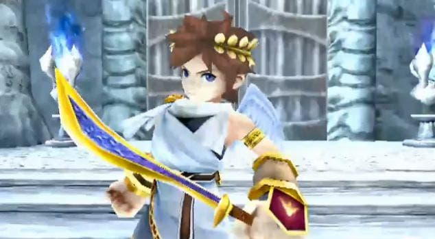 Kid Icarus: Uprising, video usando circle pad