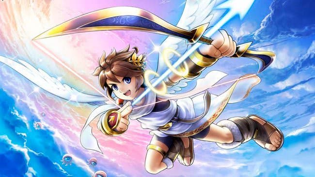 Así sería 'Kid Icarus: Uprising' en GameBoy Advance