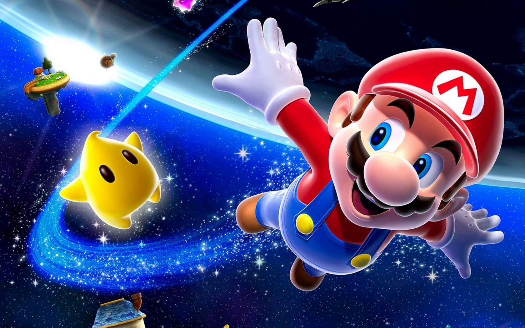 Super Mario Galaxy llega a NVIDIA Shield en China
