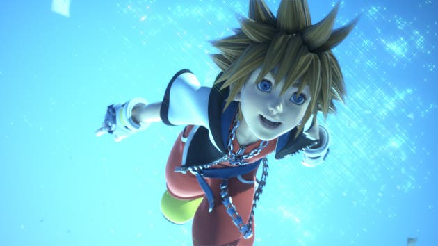 Parche de Kingdom Hearts 3D disponible en Japón