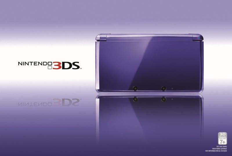 Nintendo 3DS Midnight Purple en América el 20 de Mayo