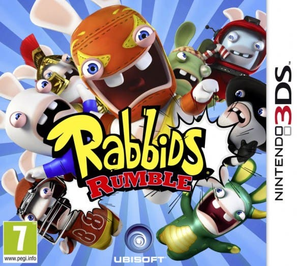 Rabbids Rumble confirmado para Nintendo 3DS