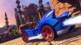 Se muestran dos gameplays de 'Sonic & All-Stars Racing Transformed' 3DS
