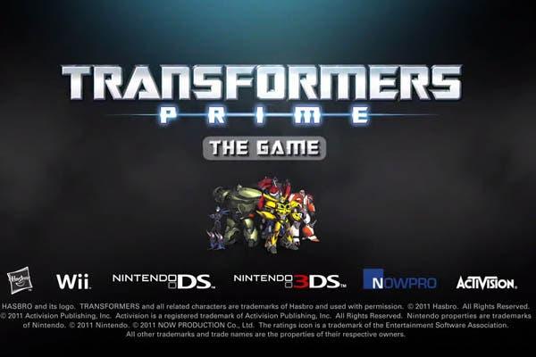 Un nuevo Transformers en exclusiva para las consolas de Nintendo