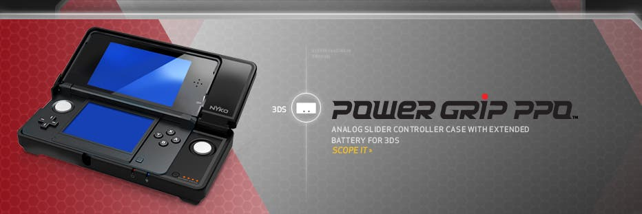 Pro Power Grip mejor que el Circle Pad de 3DS