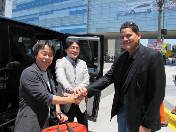 E3 2012 Reggie Iwata Miyamoto