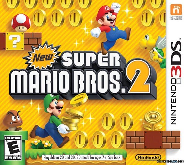 Sorteo de 2 New Super Mario Bros. 2