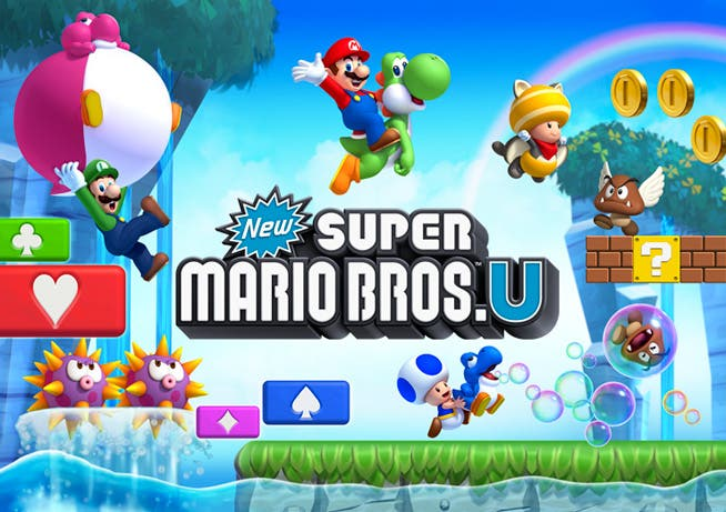Nuevo gameplay de New Super Mario Bros U de Wii U