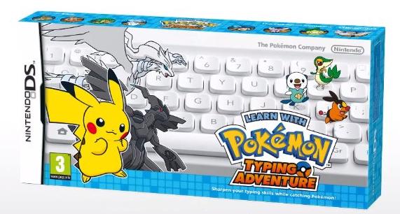 Pokemon Typing Adventure para Nintendo DS vendrá con un teclado