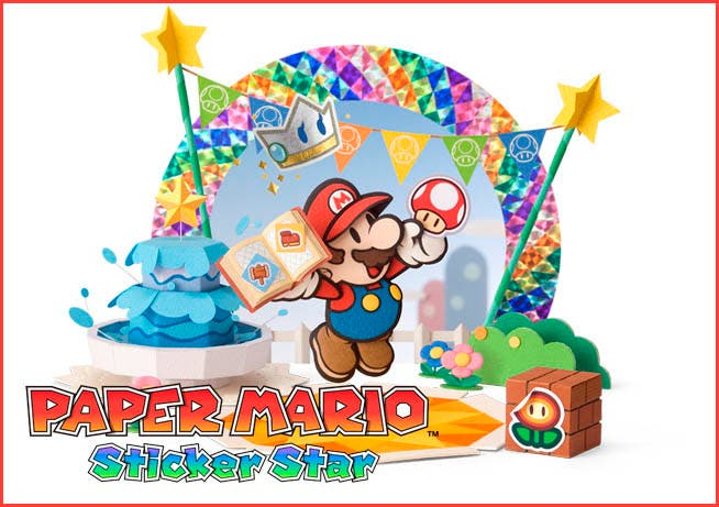 Europa ya tiene fecha para Paper Mario: Sticker Star