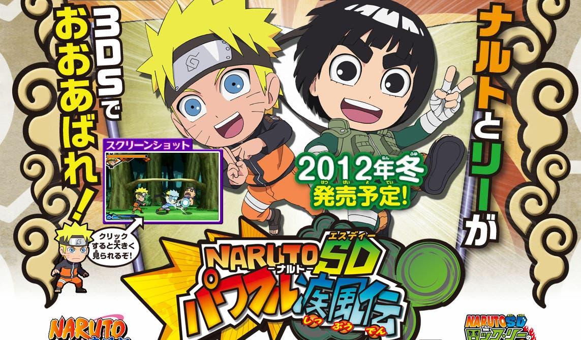 Primera hornada de imágenes de Naruto SD Powerful Shippuden