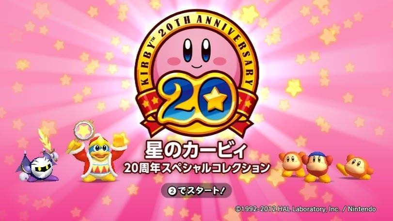 Vídeo: 20 minutos de Kirby´s Dream Collection