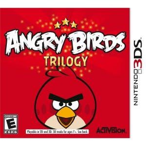 Portada y precio de Angry Birds: La Trilogía en América