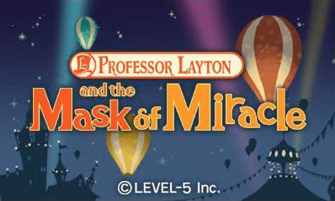 Professor Layton y la Máscara Milagrosa llegará a 3DS el 28 de octubre