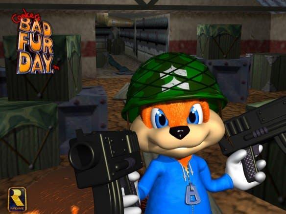 Nintendo no tuvo ninguna objeción con el acercamiento al público +18 de Conker's Bad Fur Day