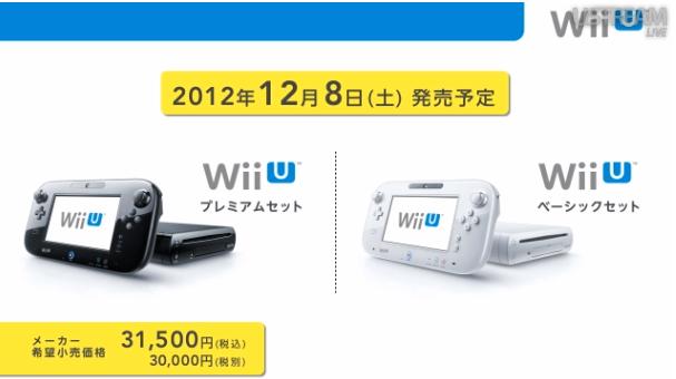 Ya tenemos fecha de lanzamiento y precio para Wii U