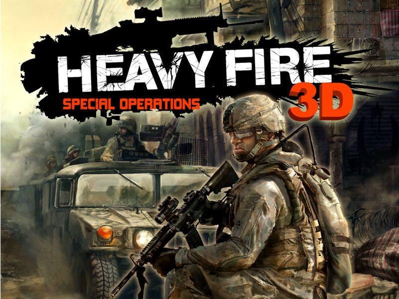 Heavy Fire: Special Operations 3D de camino a la eShop