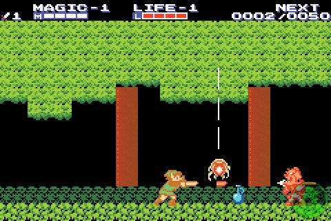 The Legend of Zelda: The Adventure of Link en la Consola Virtual