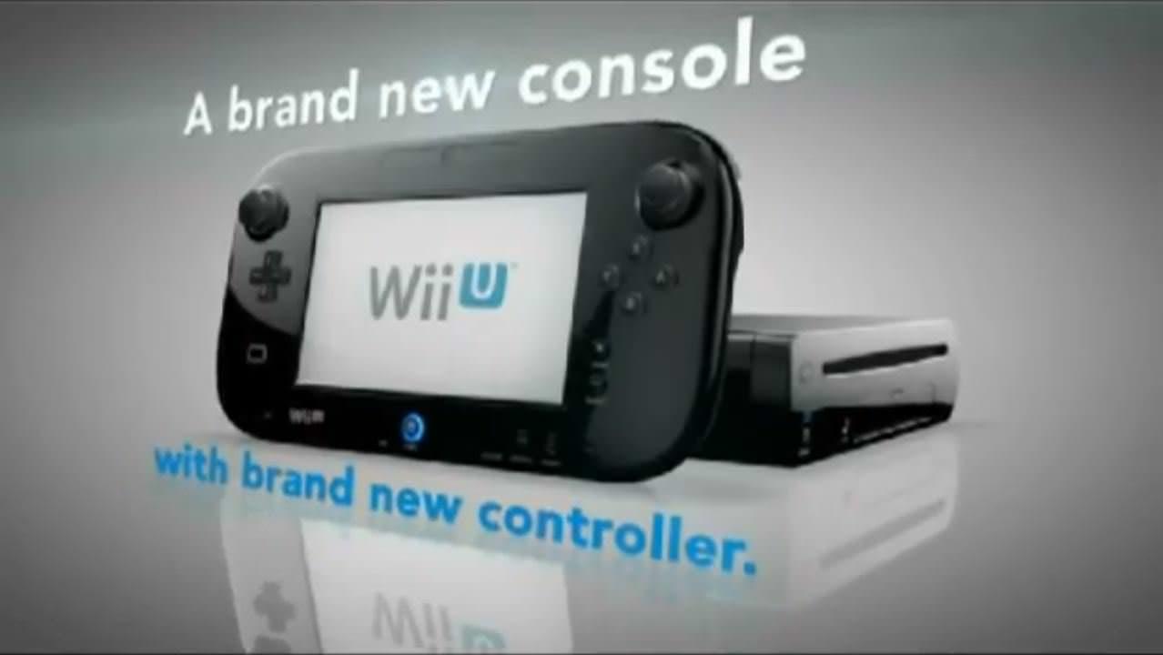 Primer anuncio de televisión de Wii U del Reino Unido