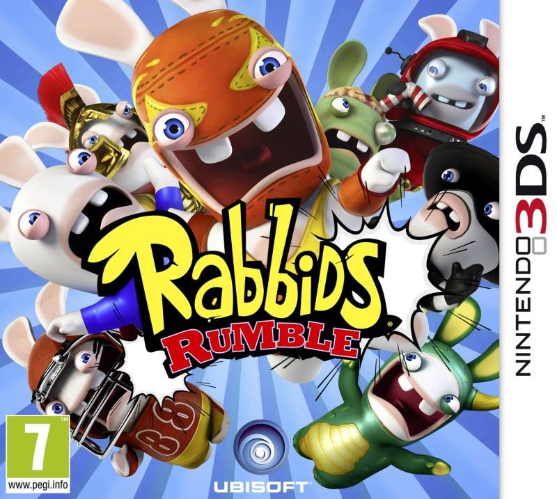 Nuevo trailer de Rabbids Rumble para 3DS