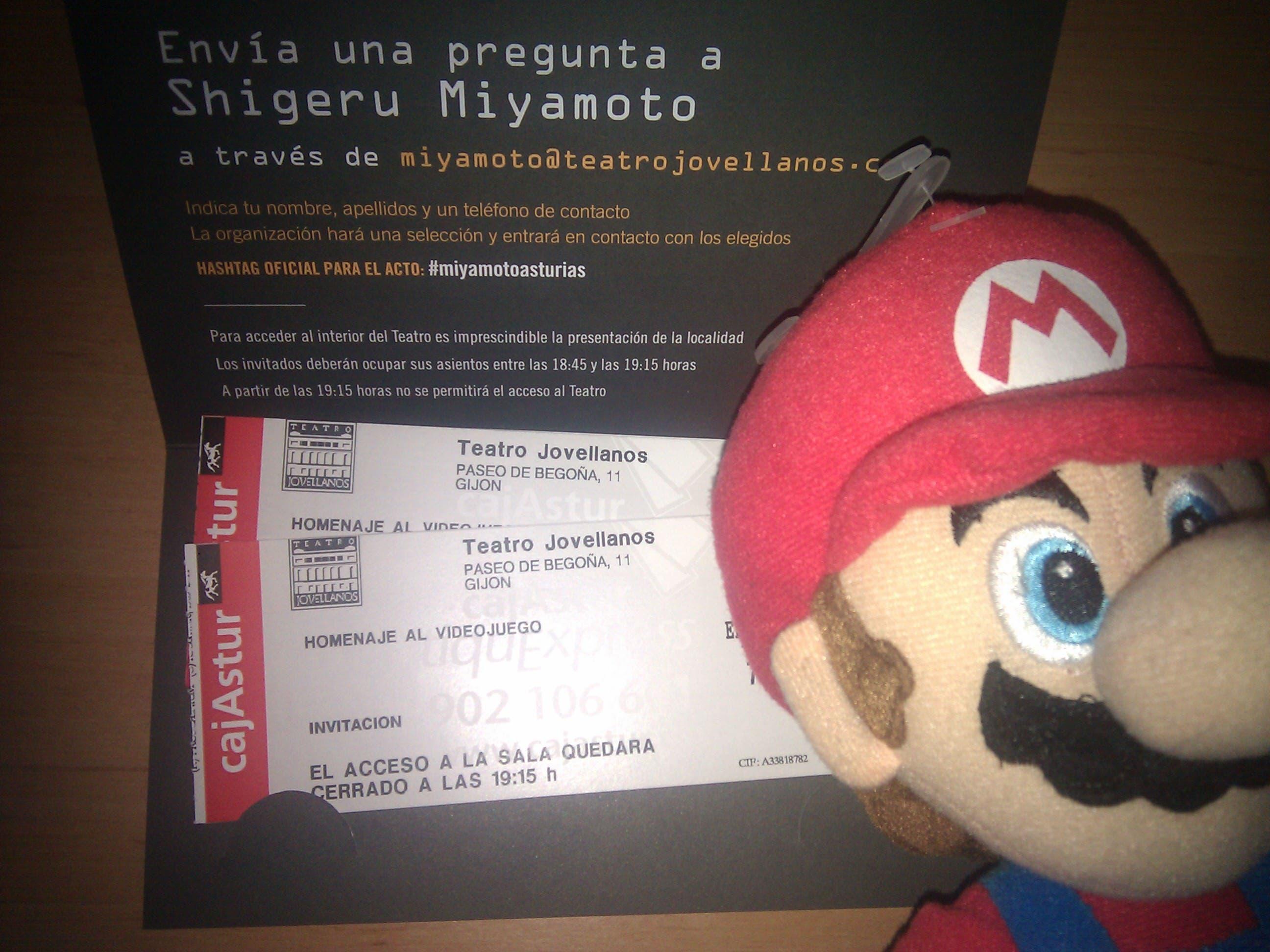 Sorteamos 3 entradas para ver a Miyamoto en vivo y en directo