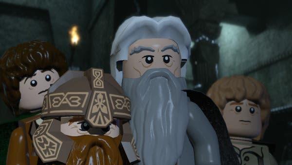 Gameplays de Profesor Layton, E.X. Troopers y LEGO LoTR