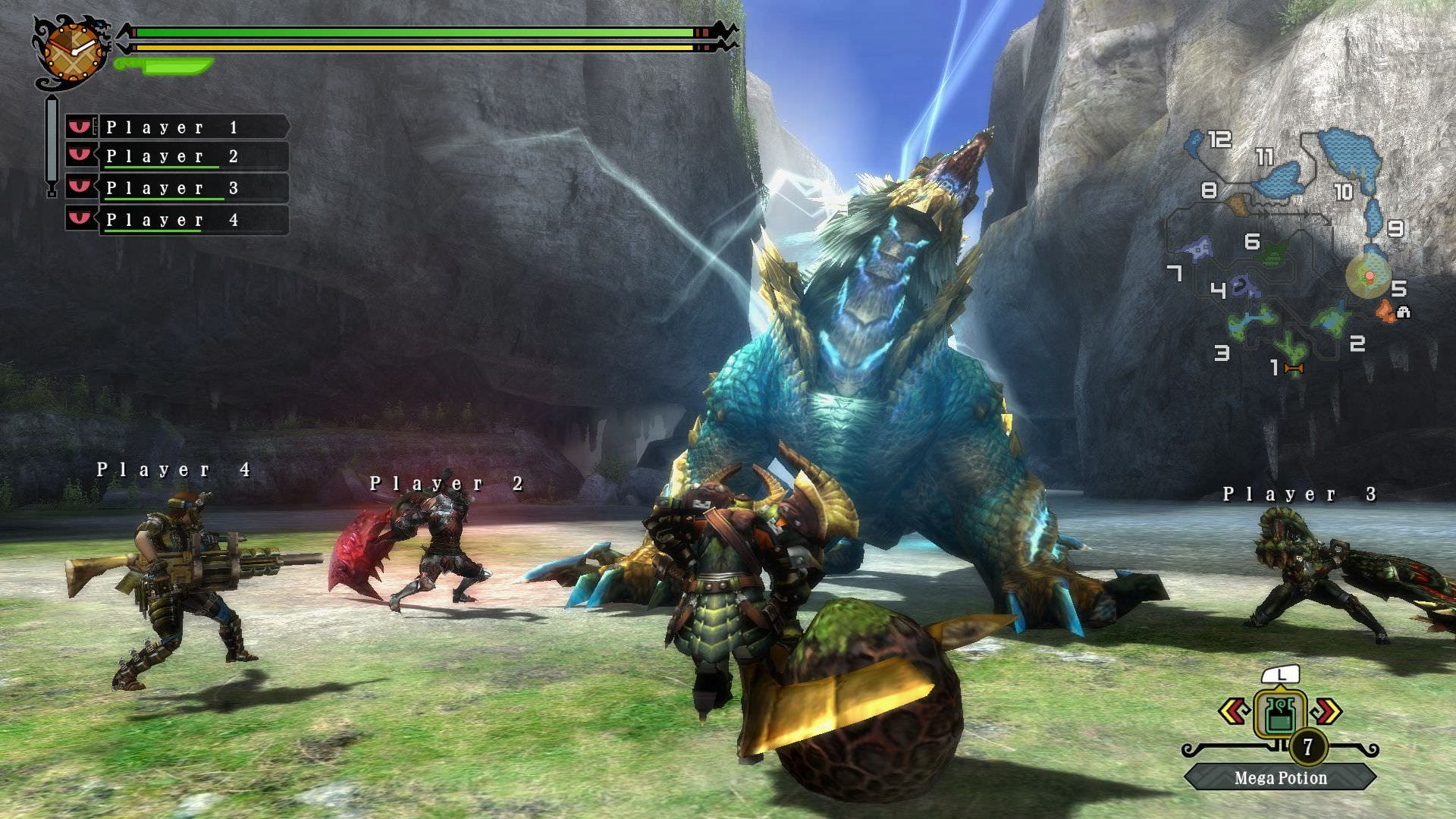 Carátula y capturas de Monster Hunter 3 Ultimate HD