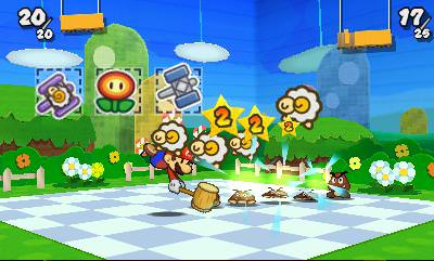 Paper Mario: Sticker Star ocupa 4.199 bloques