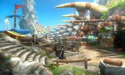 Monster hunter ultimate  3DS 1