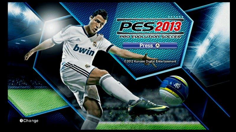 'Pro Evolution Soccer 2013' en Wii es igual que la edición de 2012