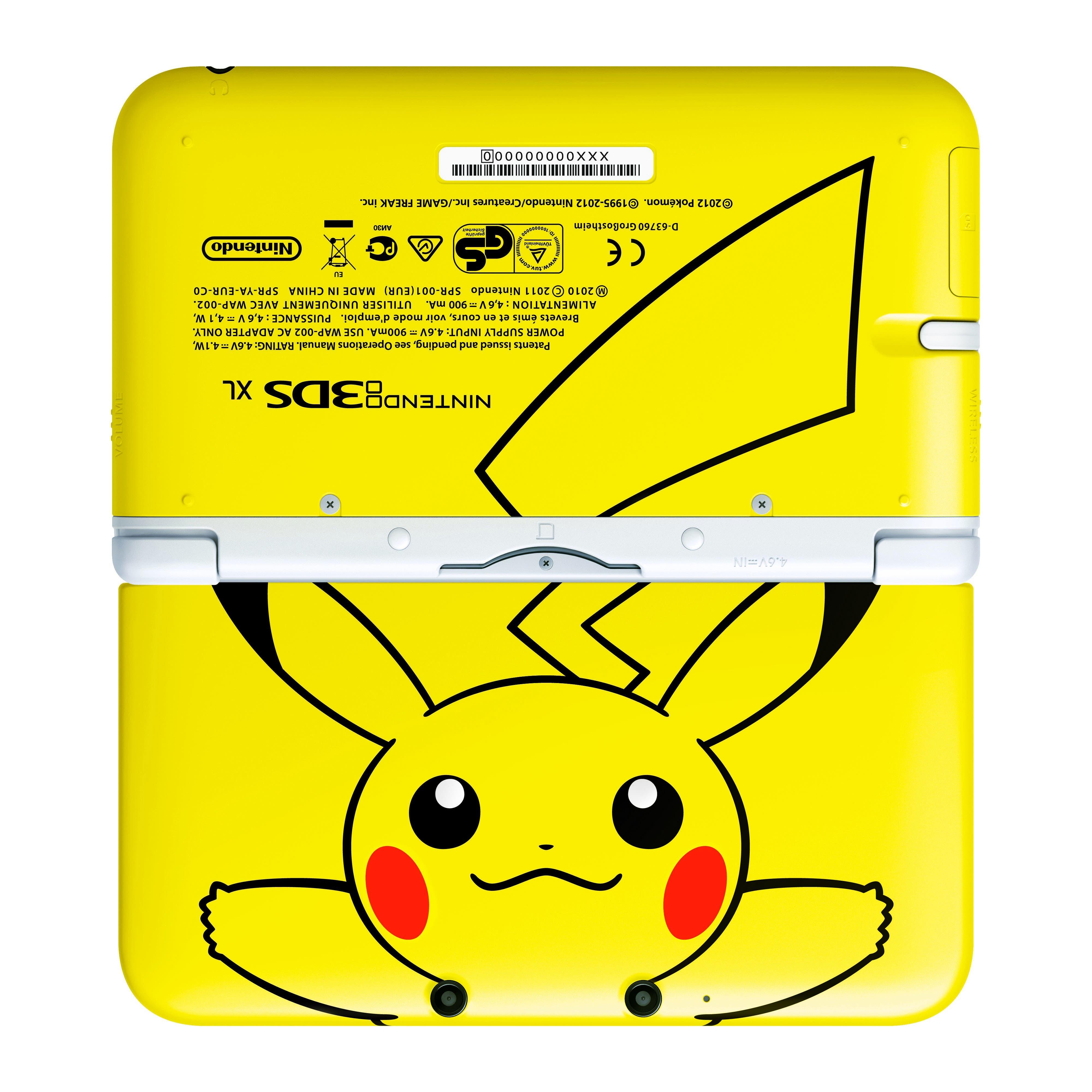 Nuevos packs de nintendo 3ds xl por navidad incluida la for 3ds xl pikachu achat