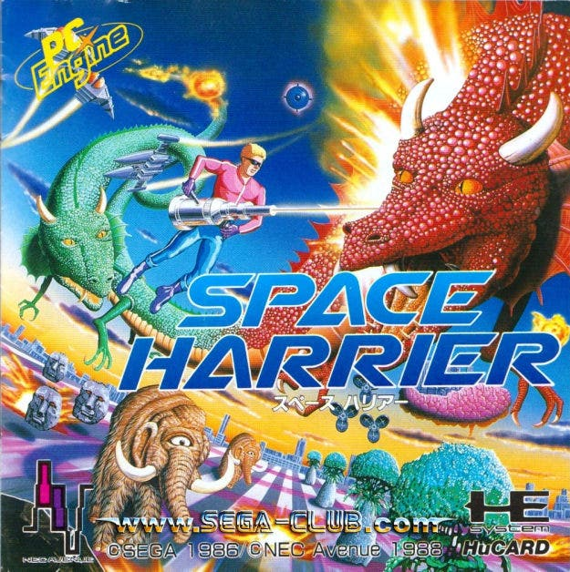 El clásico 'Space Harrier' retorna en versión 3DS