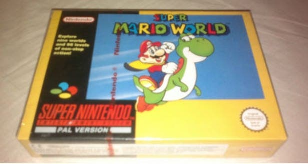 'Super Mario World' vendido por 13.000 dólares