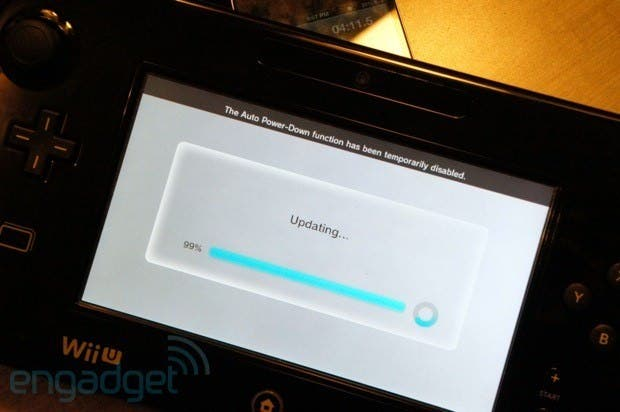 """Primera actualización de Wii U puede """"brickear"""" la consola"""