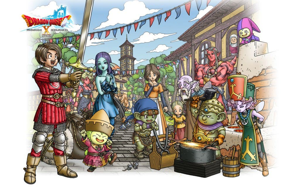 'Dragon Quest X' para Wii U tendrá música orquestada