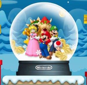 Nintendo nos desea 'Felices Fiestas'
