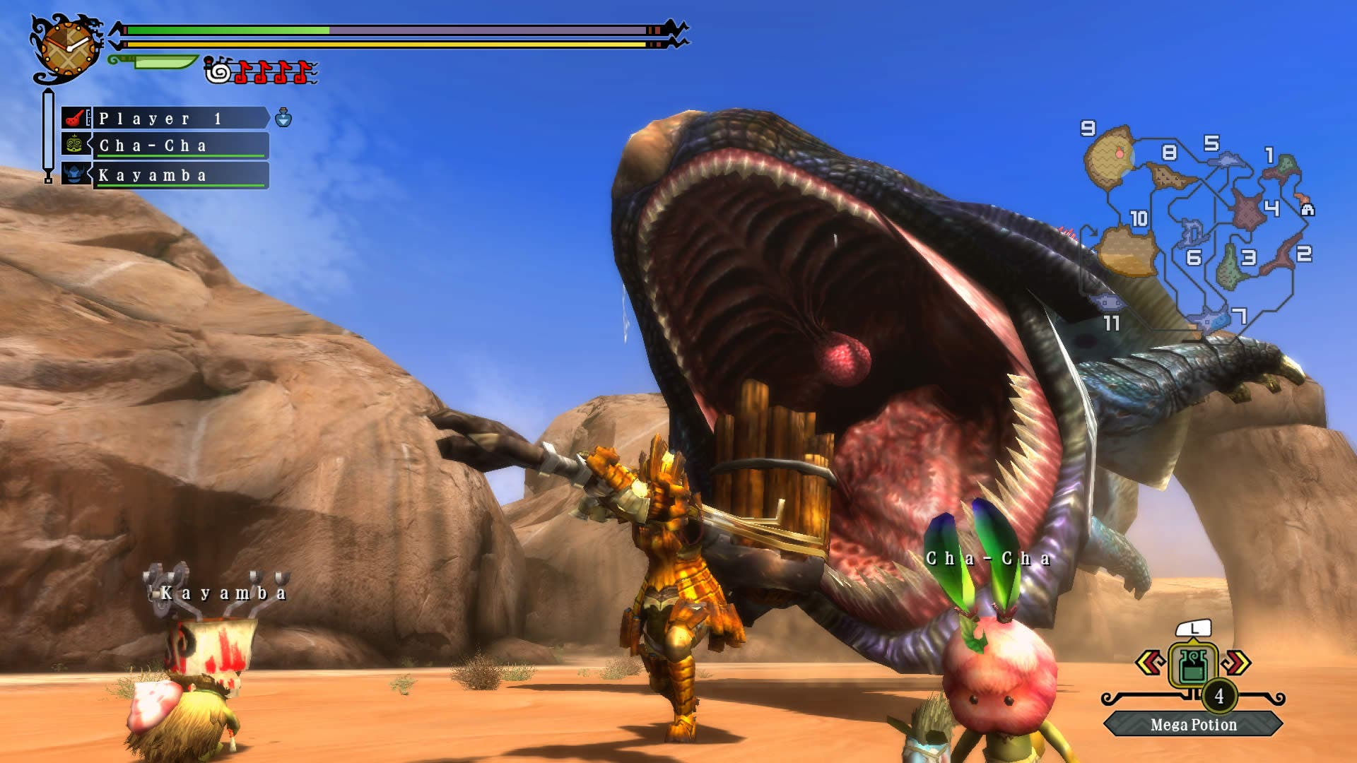 Los servidores de 'Monster Hunter 3 Ultimate' serán region-locked.
