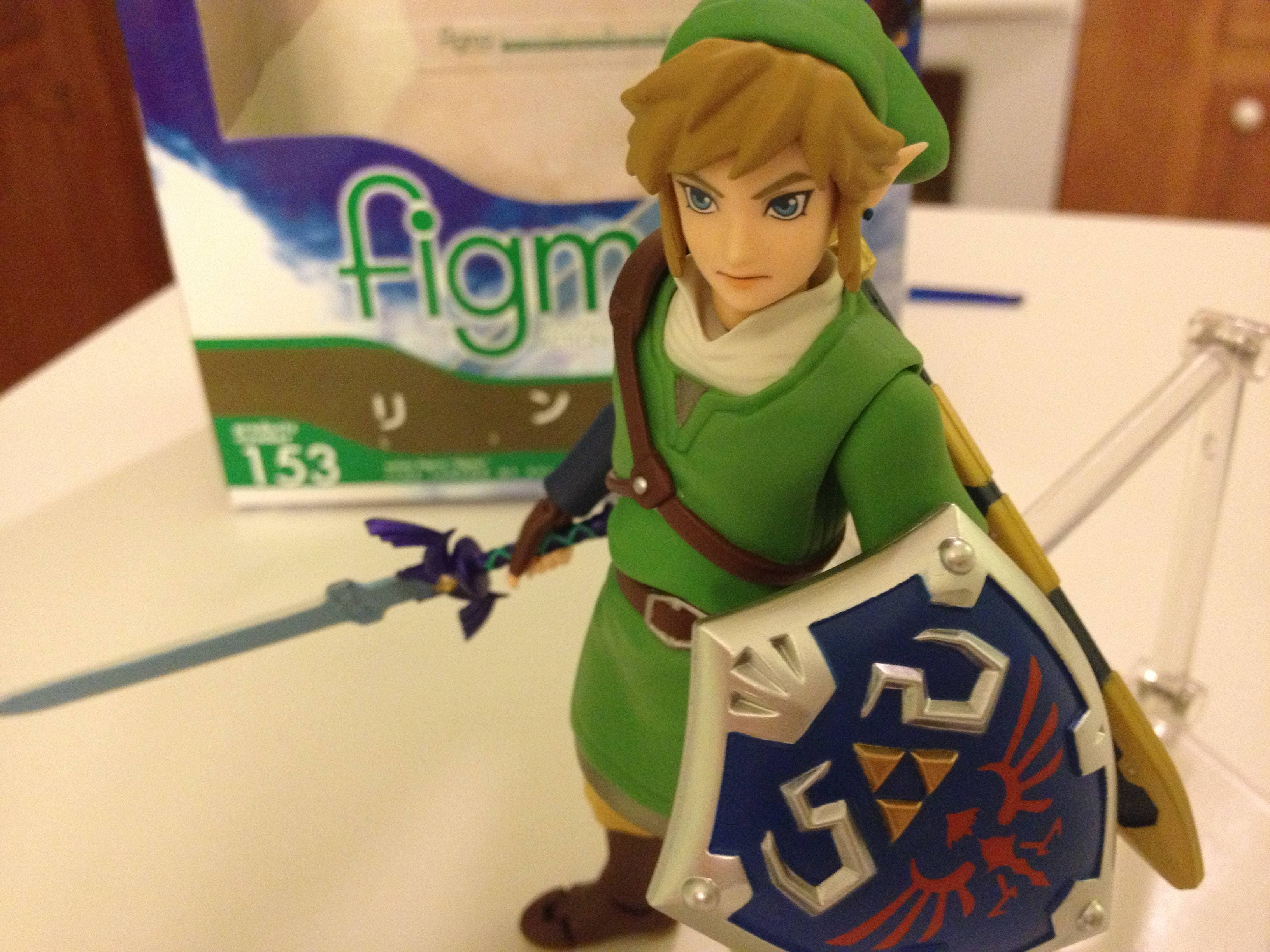 Espectacular figura de acción de Link en 'The Legend of Zelda: Skyward Sword'