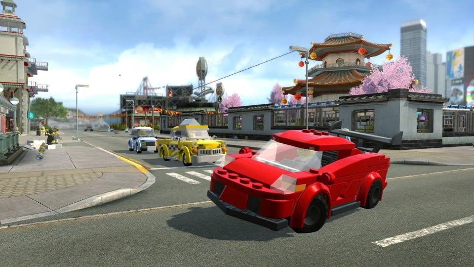 Comparativa en vídeo de LEGO City Undercover en Switch y PS4
