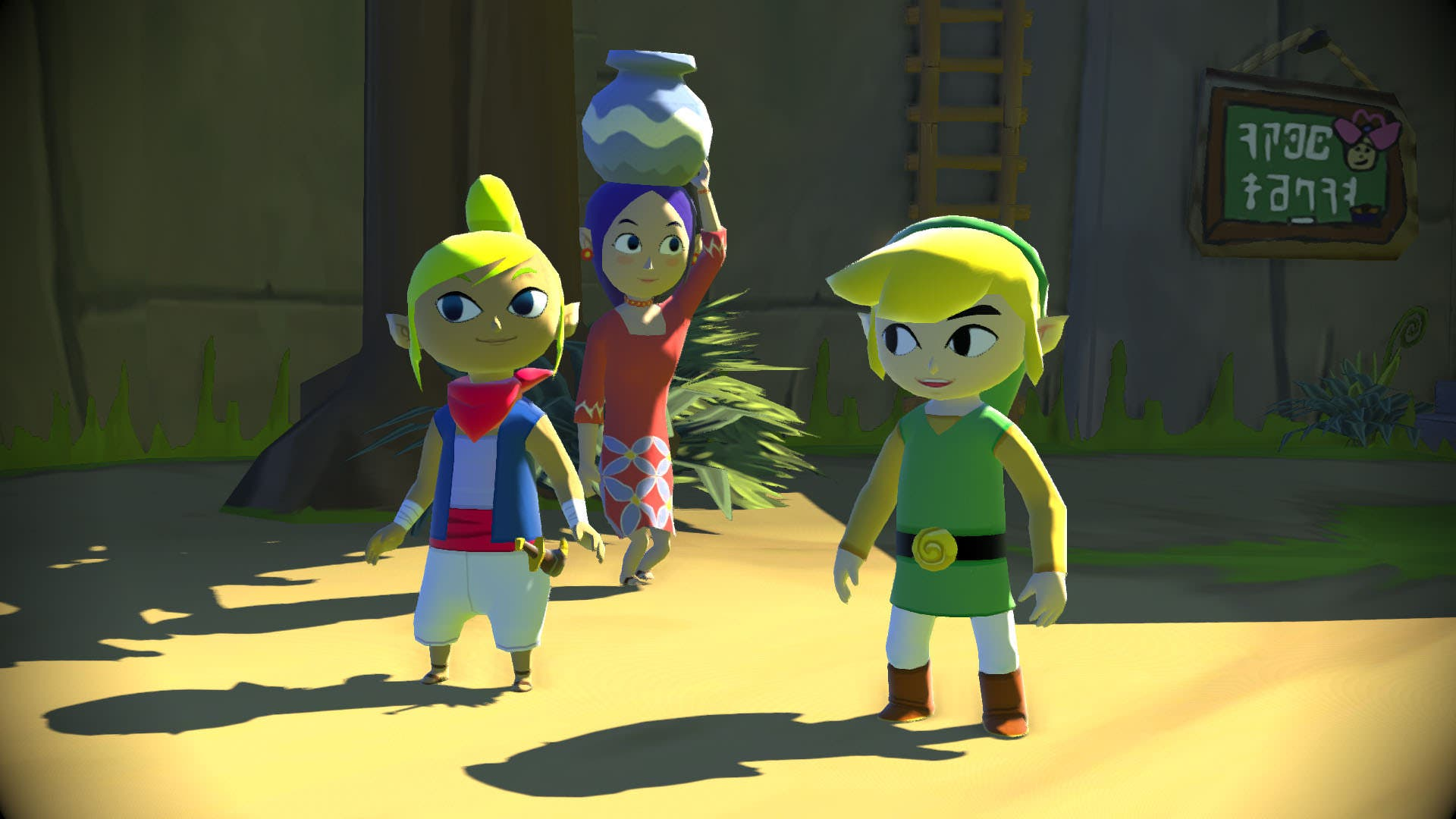 'The Legend of Zelda Wind Waker' en HD para Wii U___3