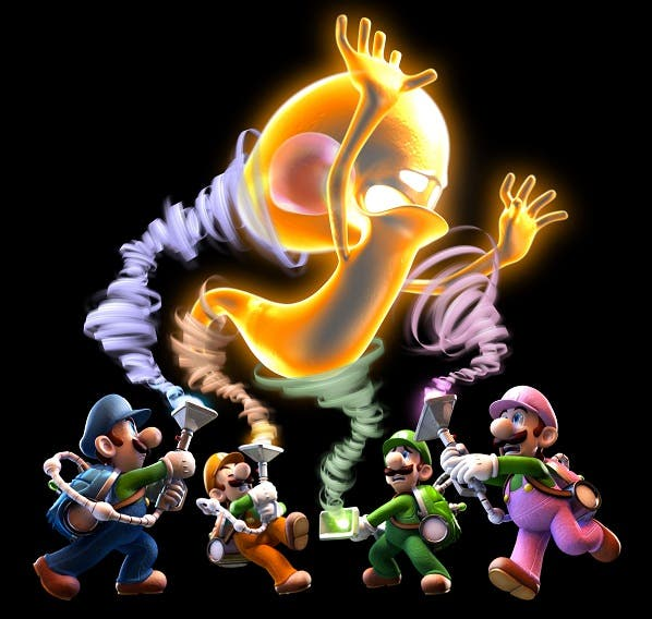 Nuevo trailer de 'Luigi's Mansion: Dark Moon' del modo multijugador