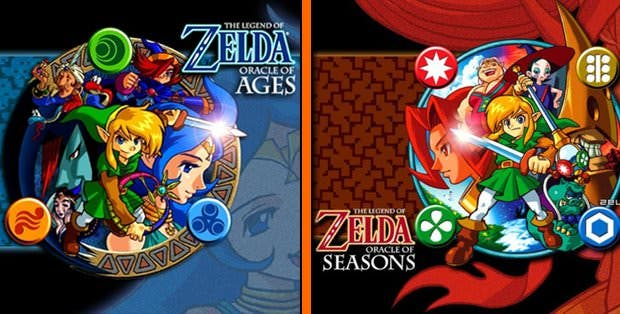 'The legend of Zelda: Oracle of Seasons' y 'Oracle of Ages' llegarán a la Consola Virtual de 3DS